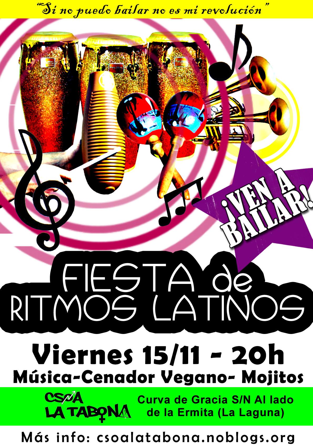 fiesta de ritmos latinos