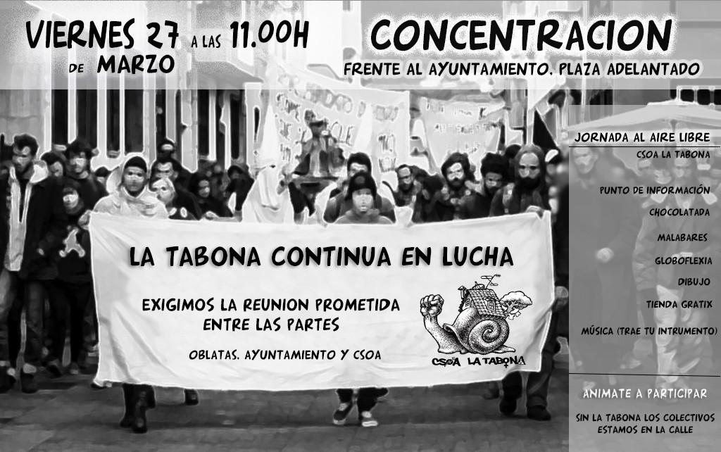 cartel Vie27 MARZO